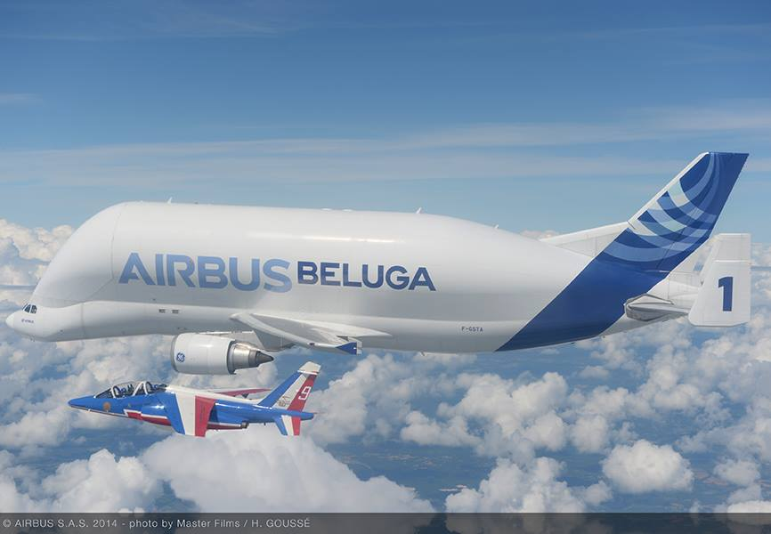 Unusual Fly-by For Beluga