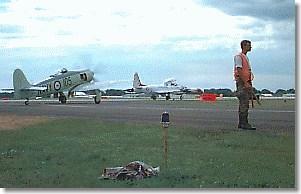 CAP Cadet directing aircraft