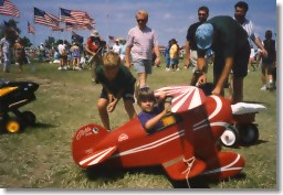 Kids and AirVenture