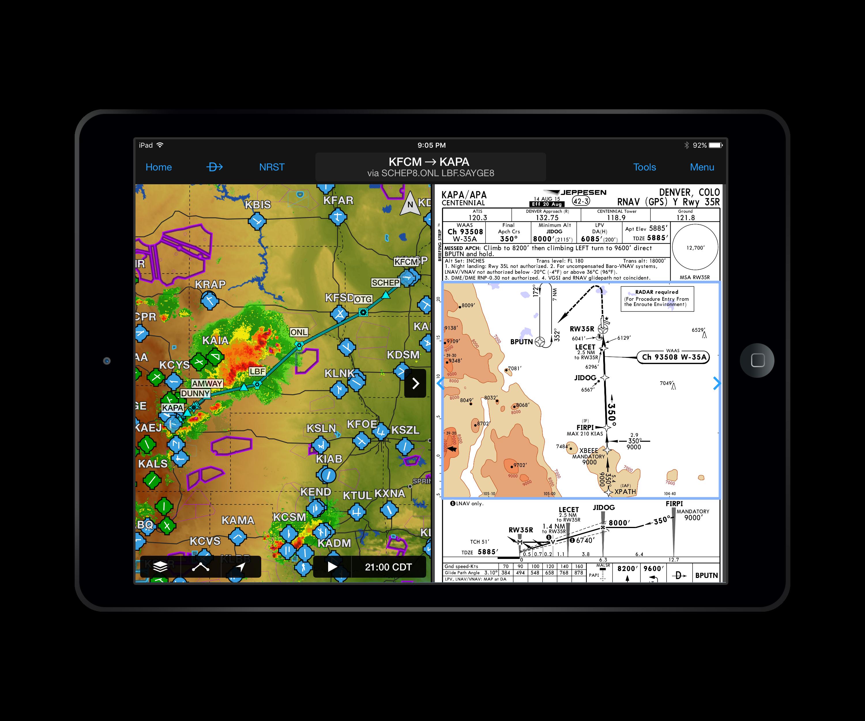 Jeppesen, Garmin Add Terminal Charts To Pilot App