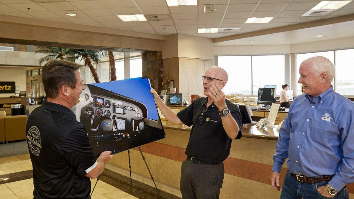 AOPA 172 Finds New Owner in Las Vegas