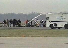 Quincy crash scene