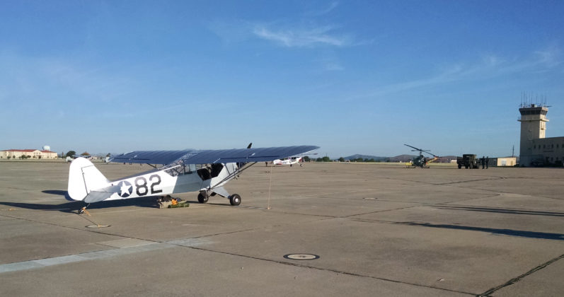 1942 Fort Sill L-4B Returns After 77 Years