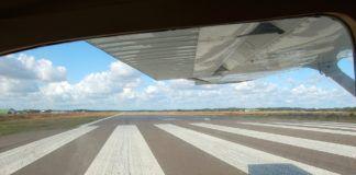 Cessna on Runway