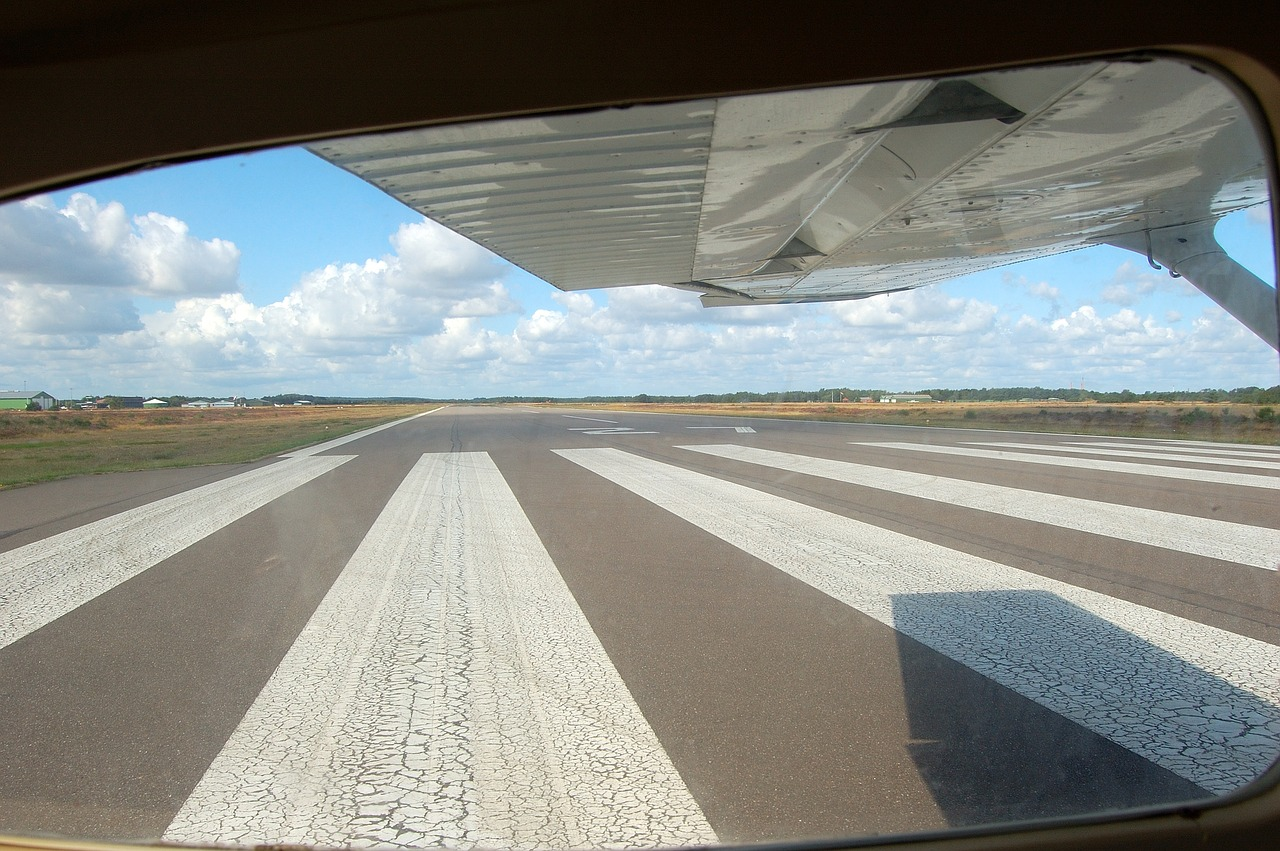 Cessna on Runway