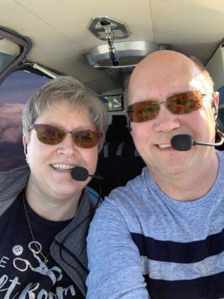 Flying to Iowa City