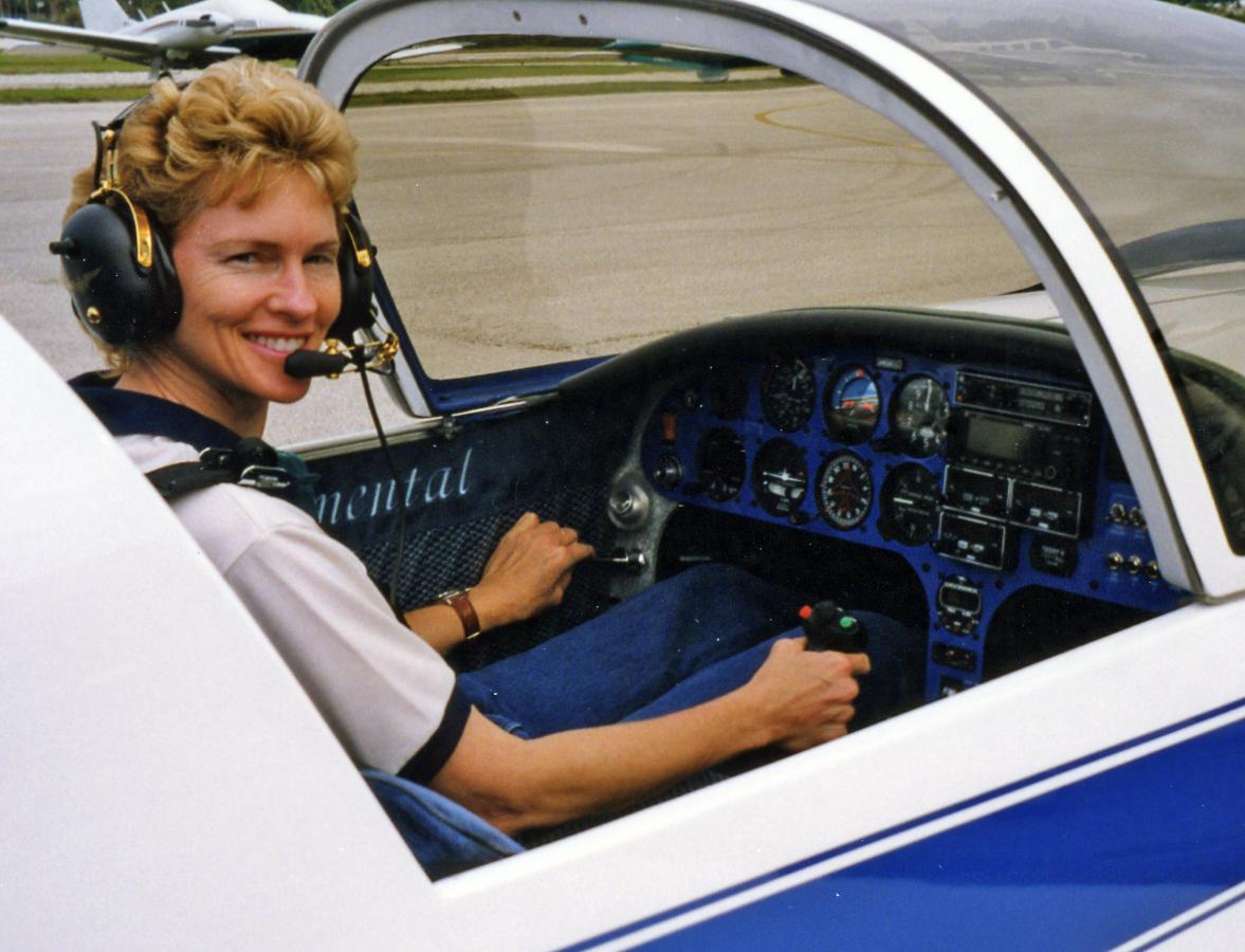 Lisa Turner Pulsar Cockpit