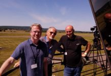 Lafayette Escadrille Documentary Filmmakers in France