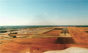 Castle's mammouth Runway 31