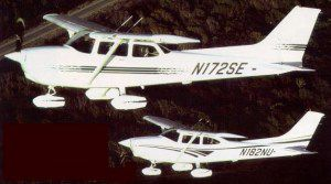 1997 Cessna 172S and 182R