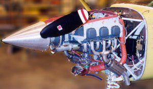 Lycoming IO-540 engine on 1997 Skylane.