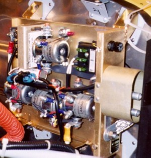 J-box houses the heart of the new Cessna electrical system.