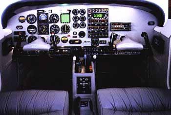 Commander 114B panel
