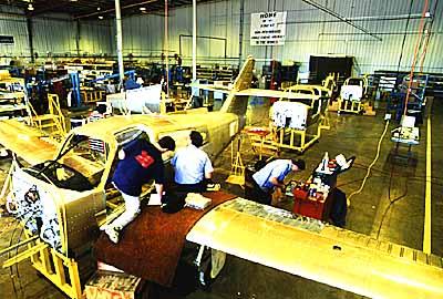Commander 114B assembly line
