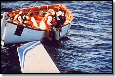 Ditching Sequence - Pilot Rescued - Plane Still Afloat