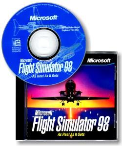 MS Flight Simulator 98 packaging