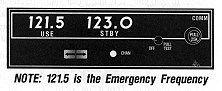 Comm Radio 121.5