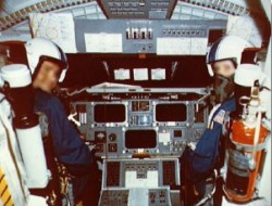 Shuttle cockpit