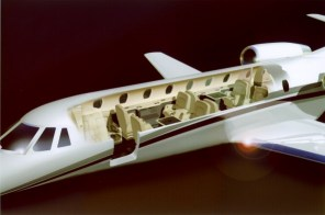Sovereign cutaway view