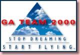 GA Team 2000 logo - Learn To Fly!
