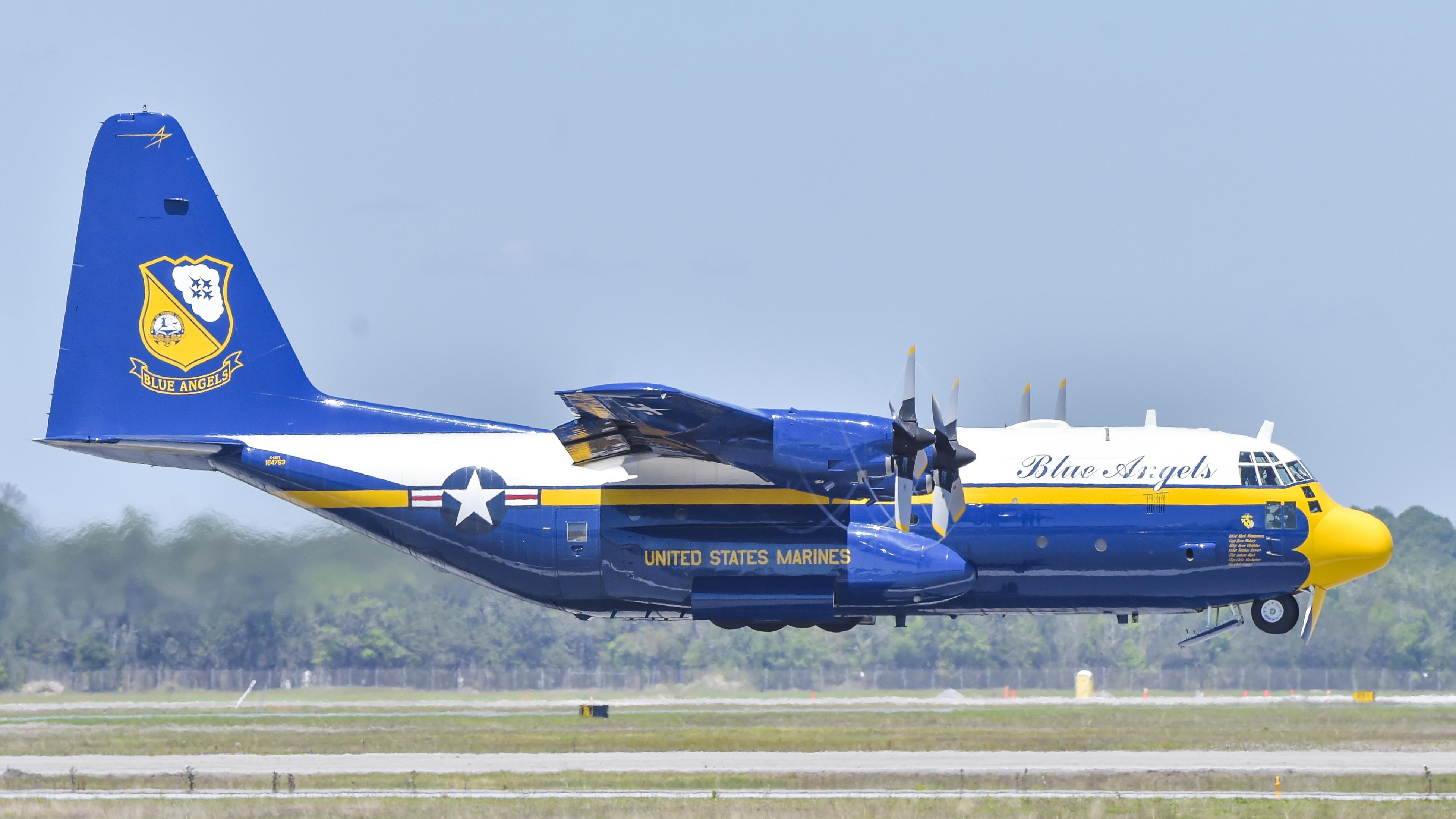 US Navy Blue Angels Fat Albert