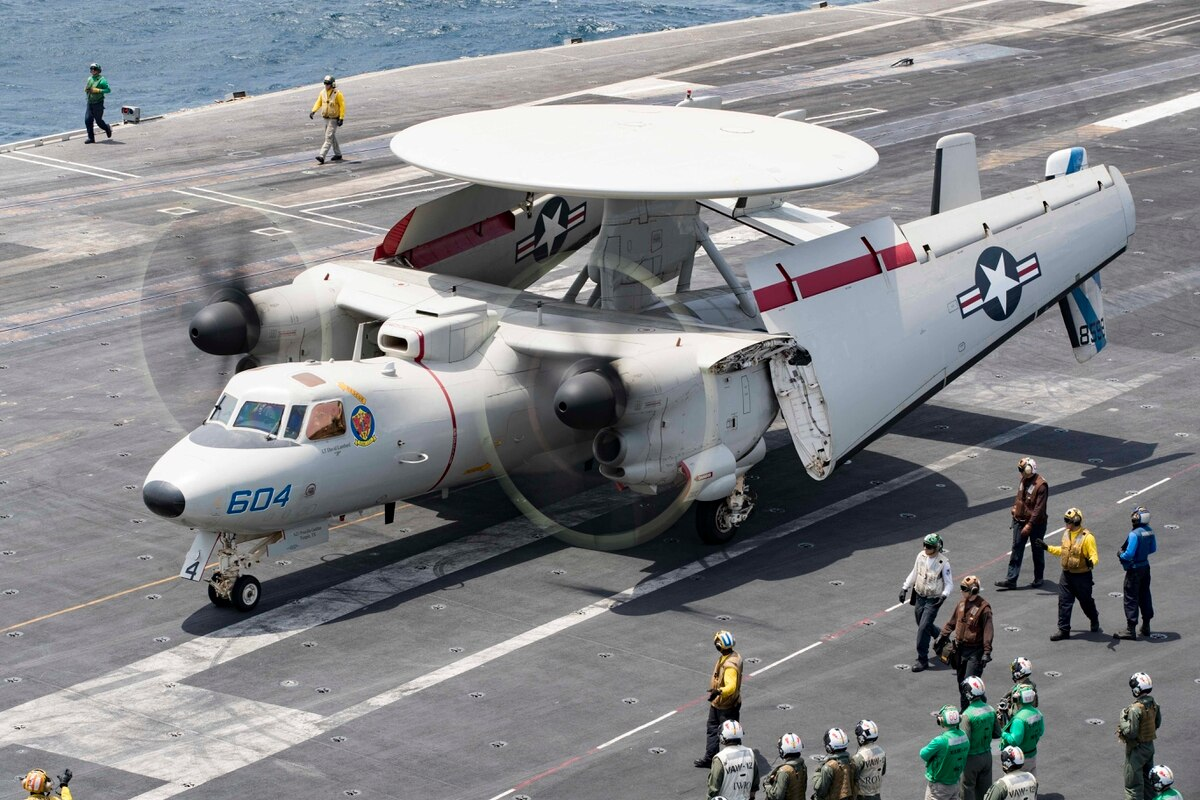 Bolter Accident Damages Five Carrier Aircraft