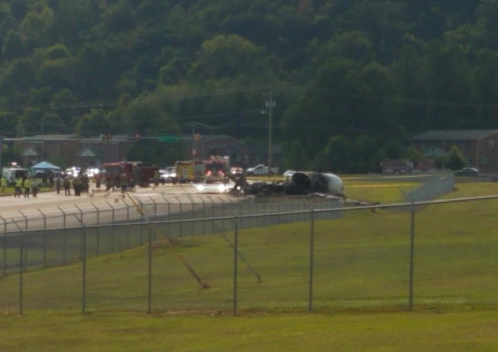 Earnhardt Family, Pilots Safe After Citation Crash - AVweb