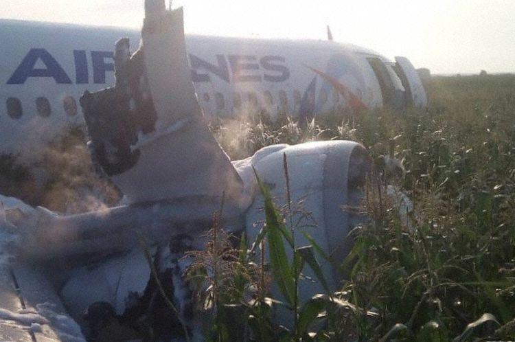 A321 Makes Emergency Landing In Cornfield - AVweb