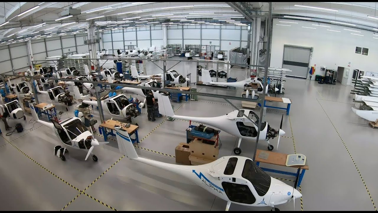 How Pipistrel Builds Electric Airplanes - AVweb