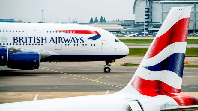British Airways Cancels Nearly All Flights