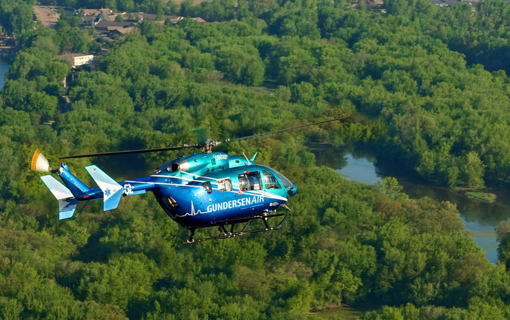 Airbus Delivers First US-Made EC145e