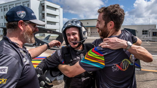 Hall Wins Final Red Bull Air Race Championship