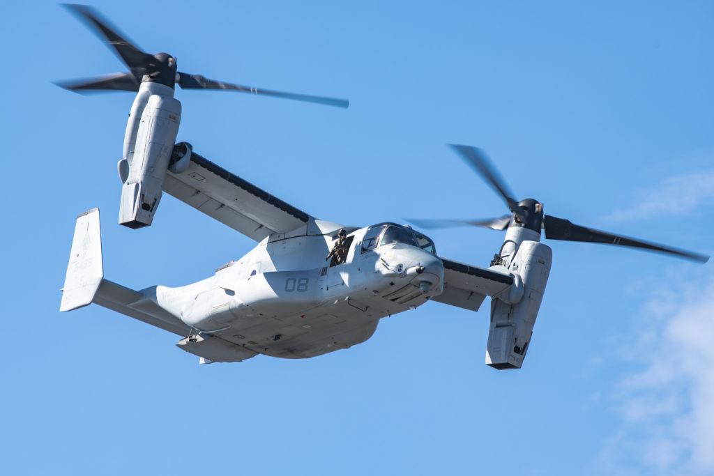 Osprey Fleet Hits 500K Flight Hours