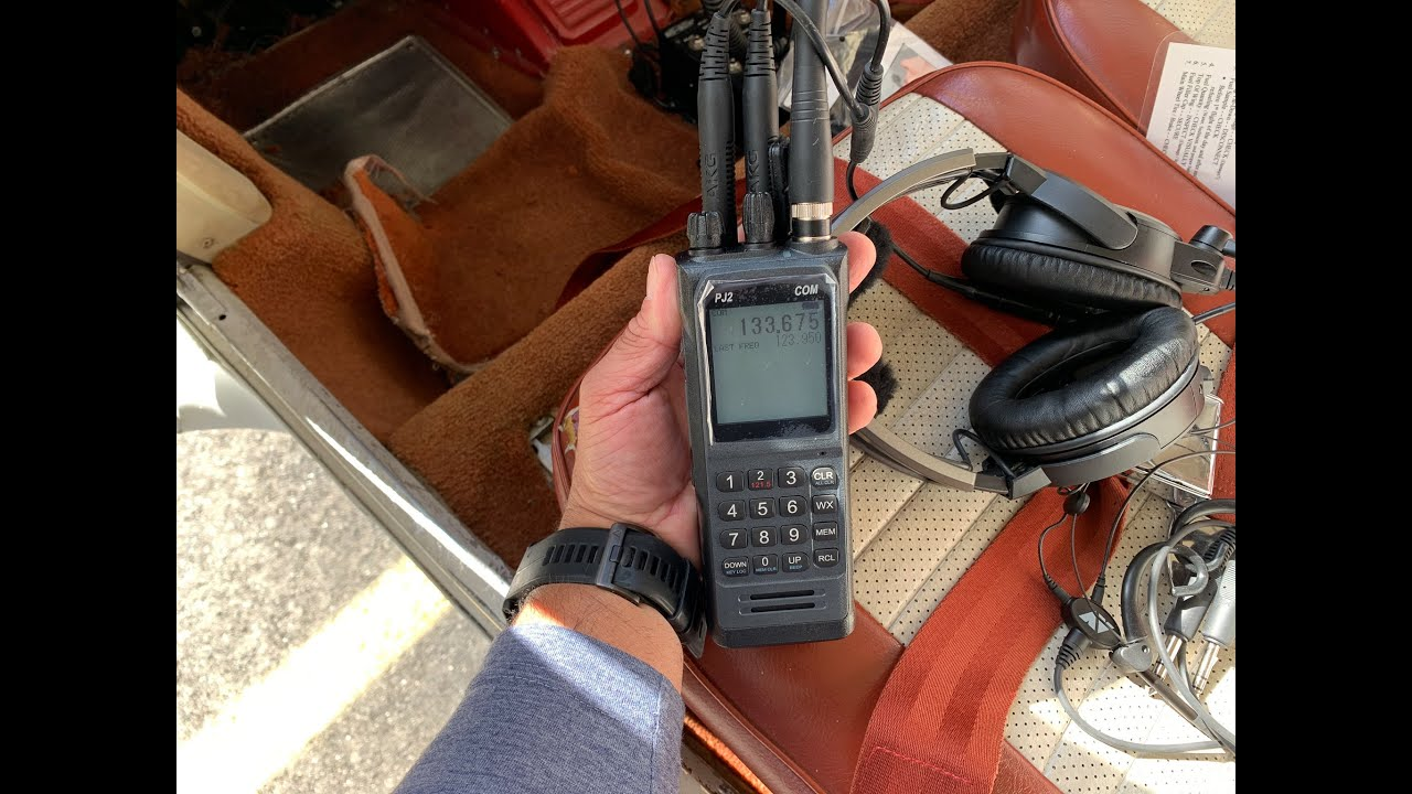 Sporty's New PJ2 Portable VHF Comm