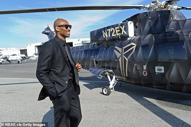 Image result for kobe bryant helicopter
