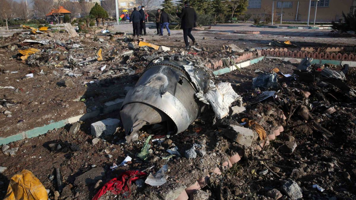 Iran Admits To Shooting Down Airliner