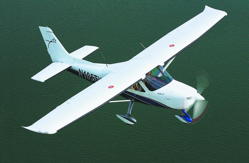 Texas Colt: Big Airplane Handling