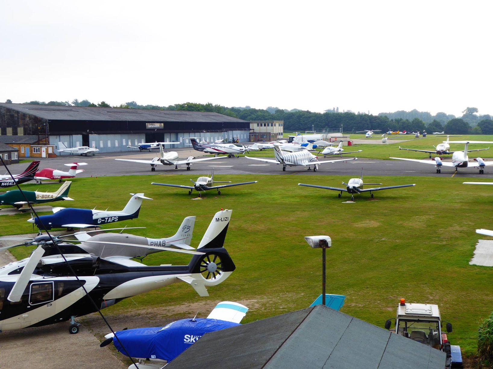 U.K. GA Pilots Told To Stay Home