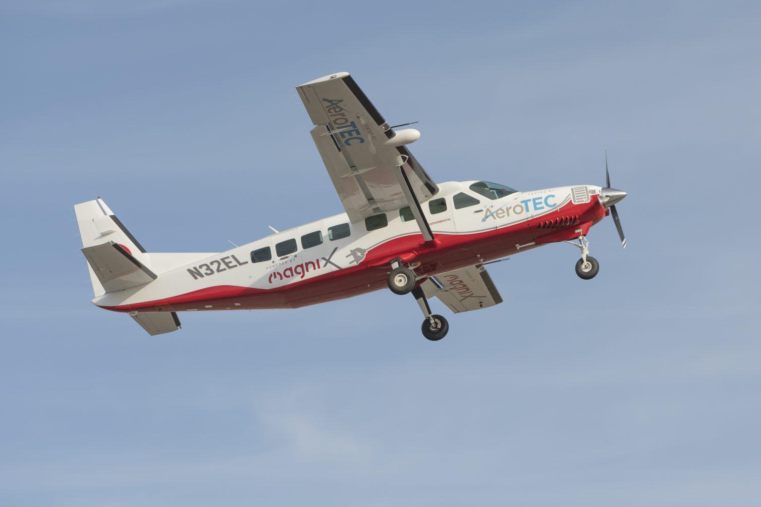 Electric Caravan Makes First Flight