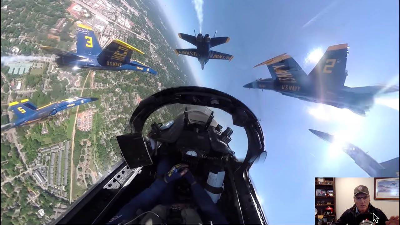 Blue Angels And Thunderbird Flybys Explained