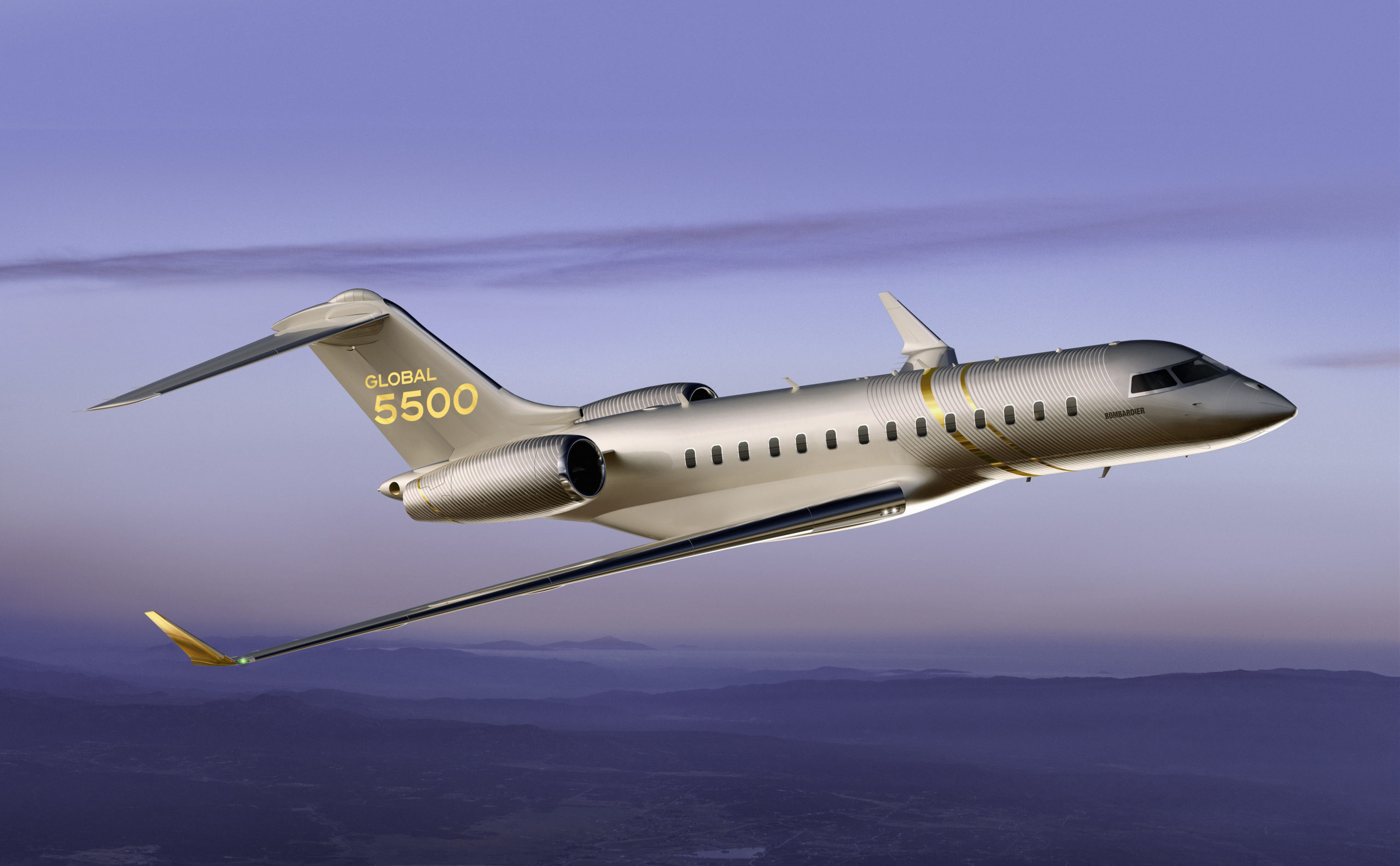 Global 5500 Enters Service