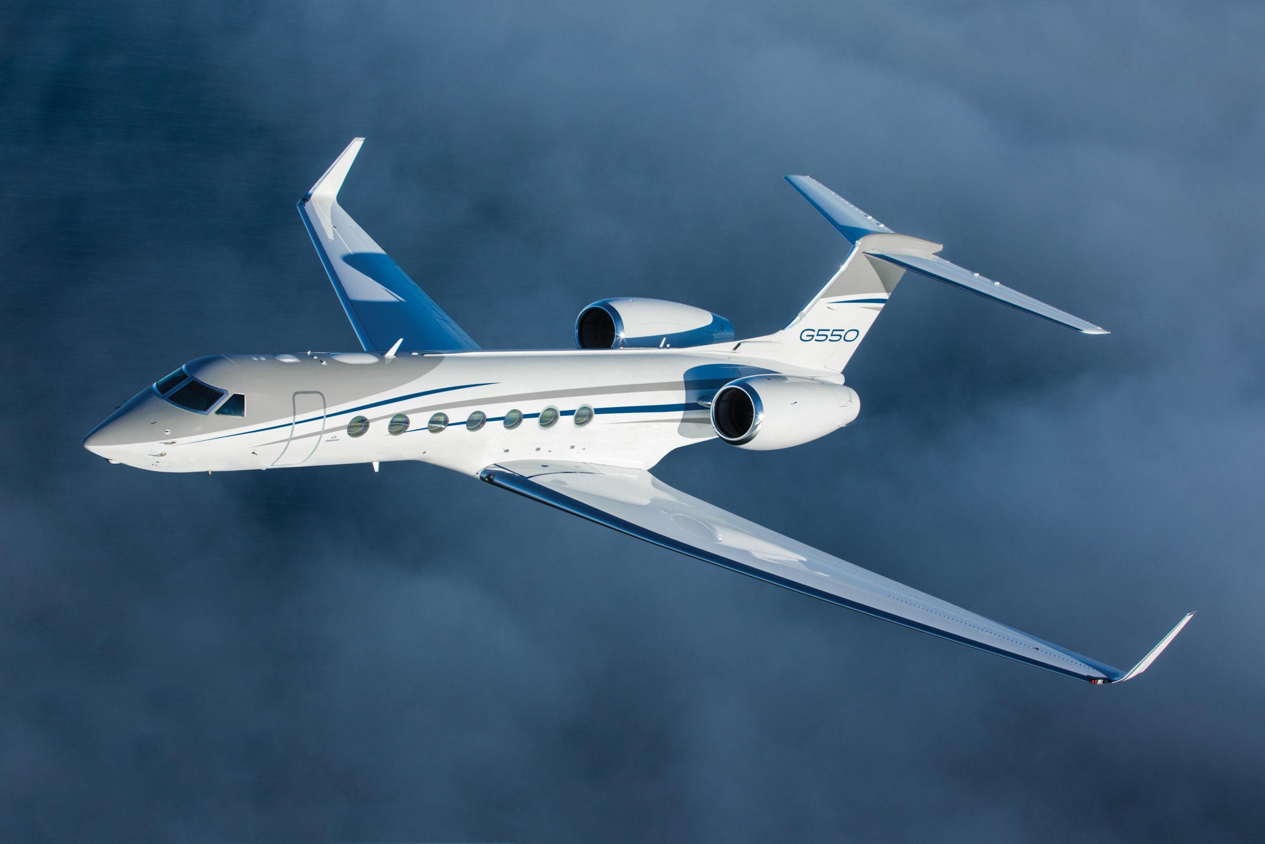 Gulfstream Sells Last G550