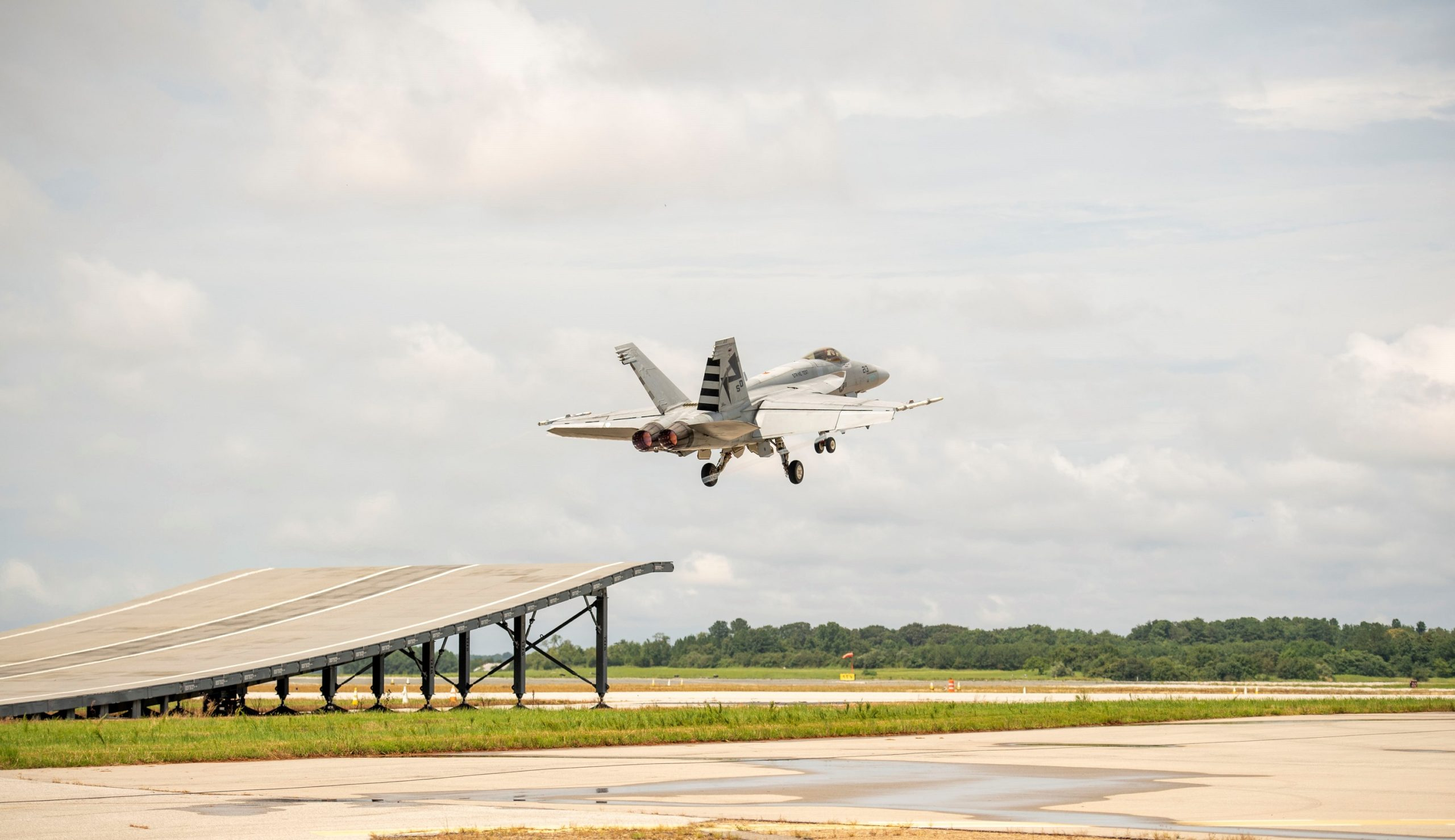 The Hornet Jumps