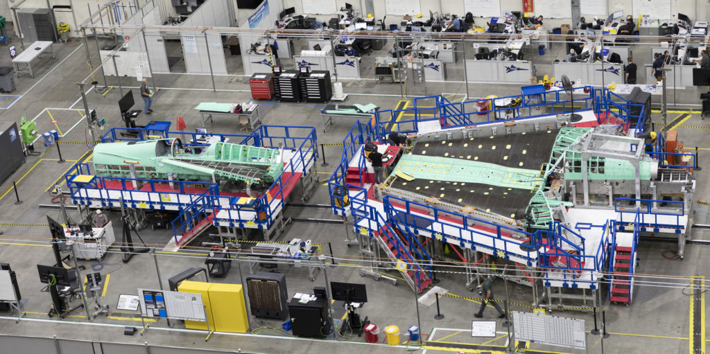 NASA Marks Halfway Point In Supersonic X-Plane Construction