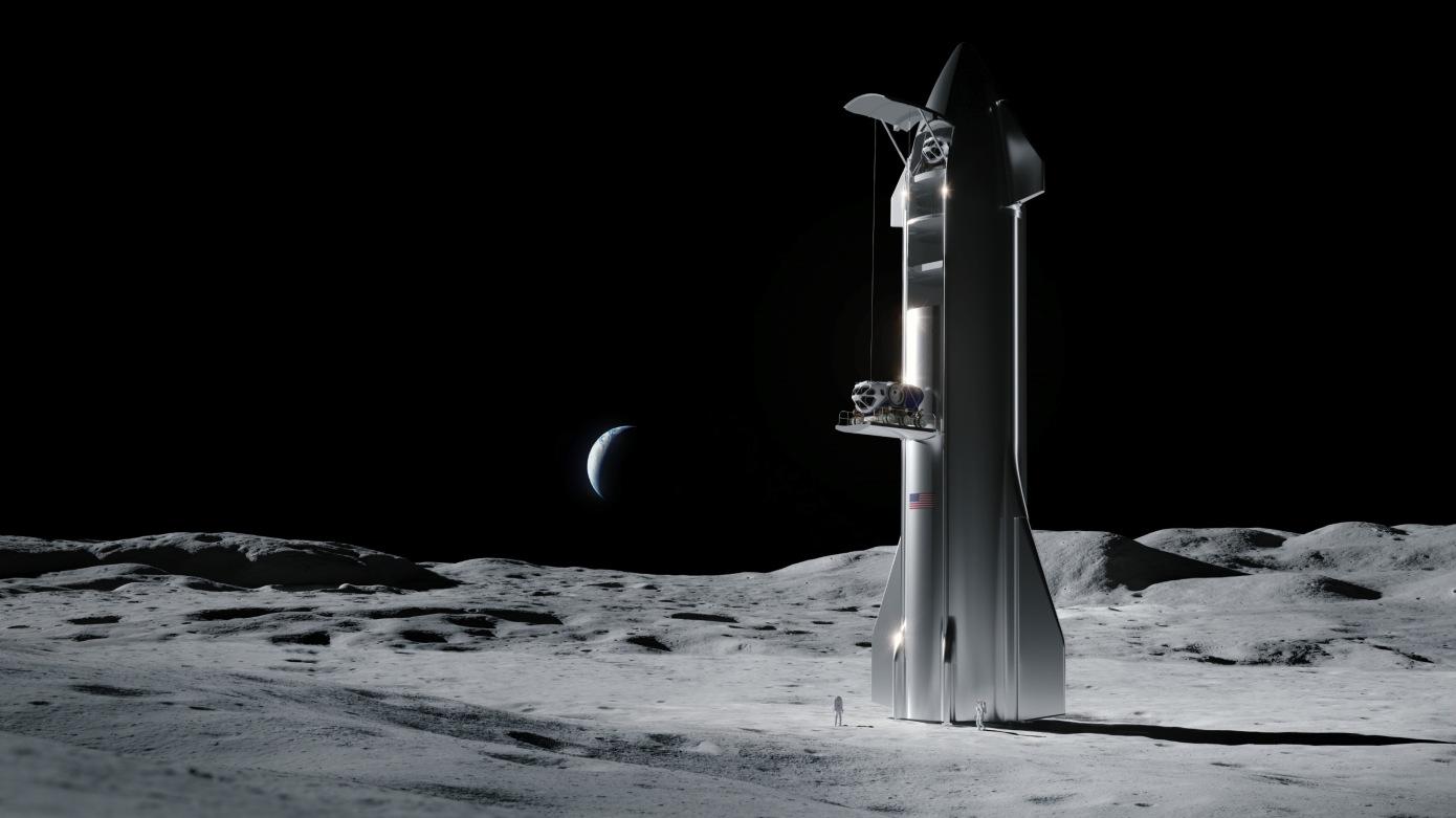 SpaceXLander